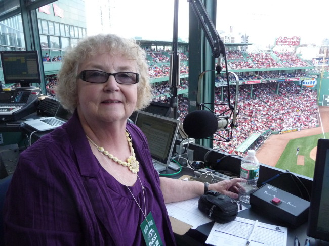 "PA Blog interview with Wanda Fischer, recent ""Guest In The Chair"" at Fenway Park"